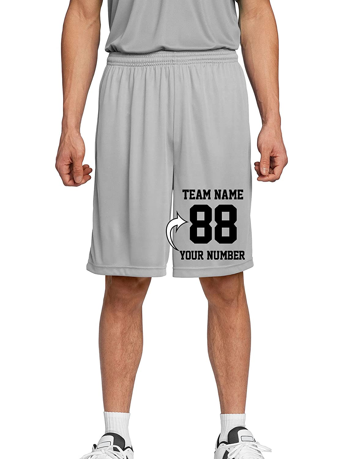 Personalized Team Uniforms TMST35502 Tee Miracle Custom Adult /& Youth Basketball Shorts Make Your Own Short