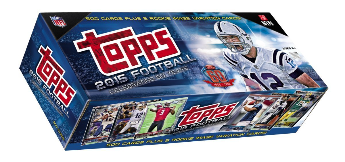 Topps NFL All NFL Teams 2015 Complete Factory Set, Blue, Small by Topps