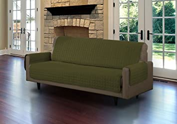 Amazon.com: Protector de sofá de microante acolchado ...
