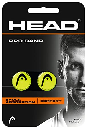 Head Pro Damp Anti Vibrador, Amarillo, S: Amazon.es: Deportes y aire libre