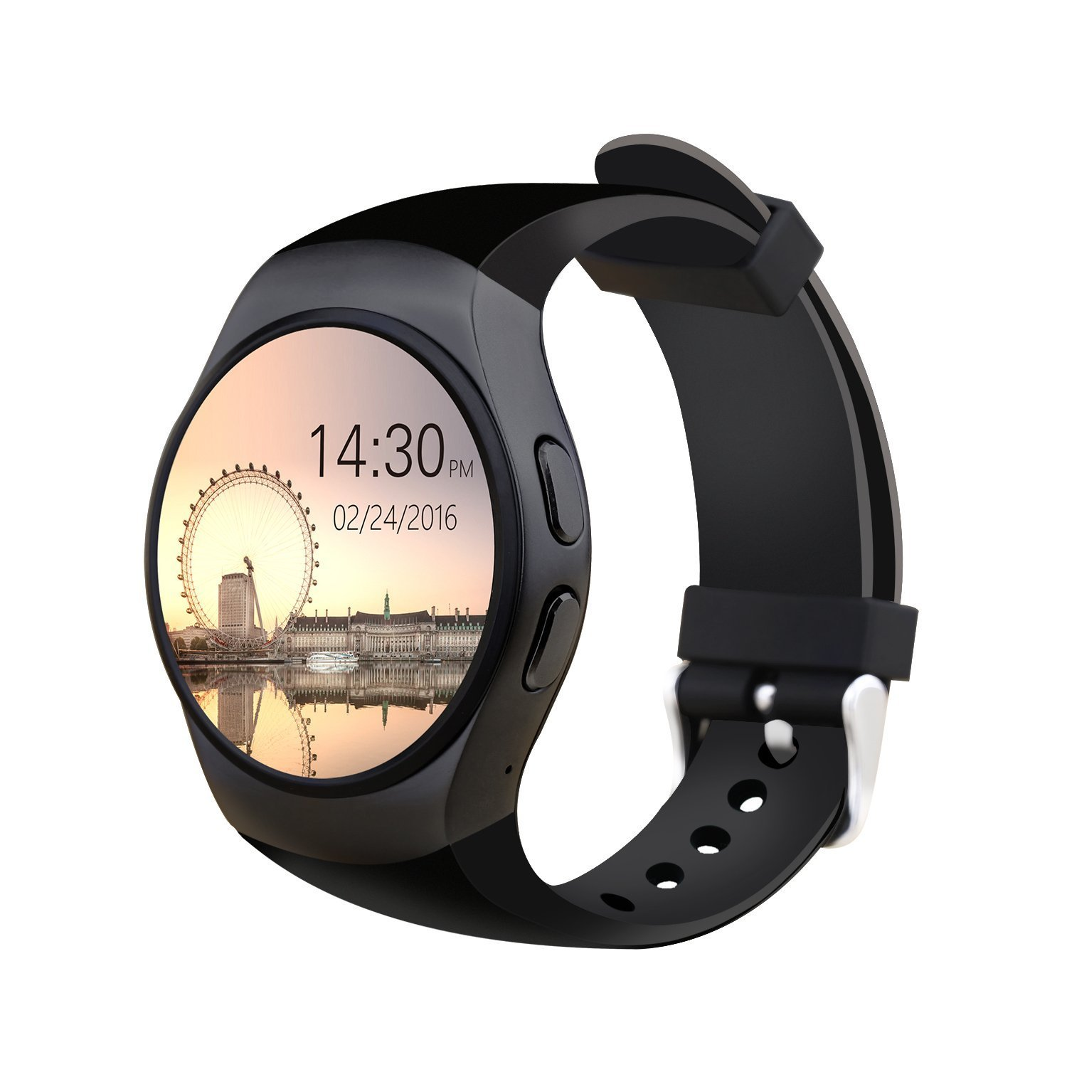 Amazon.com: JDA KW18 Smart Watch Gift 16g TF Card Android ...