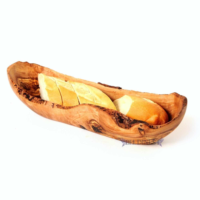 BeldiNest 15'' Large Bread Basket, Handcrafted Wooden Bread Basket, Baguette Basket Sale! by BeldiNest