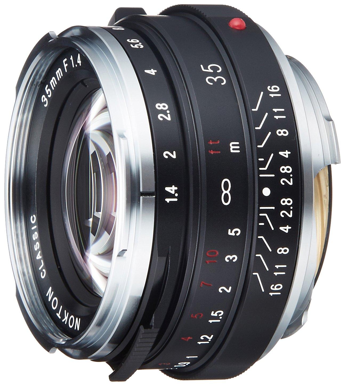 VoightLander 単焦点レンズ NOKTON classic 35mm F1.4 MC レンズのみ  B001UNTT7G