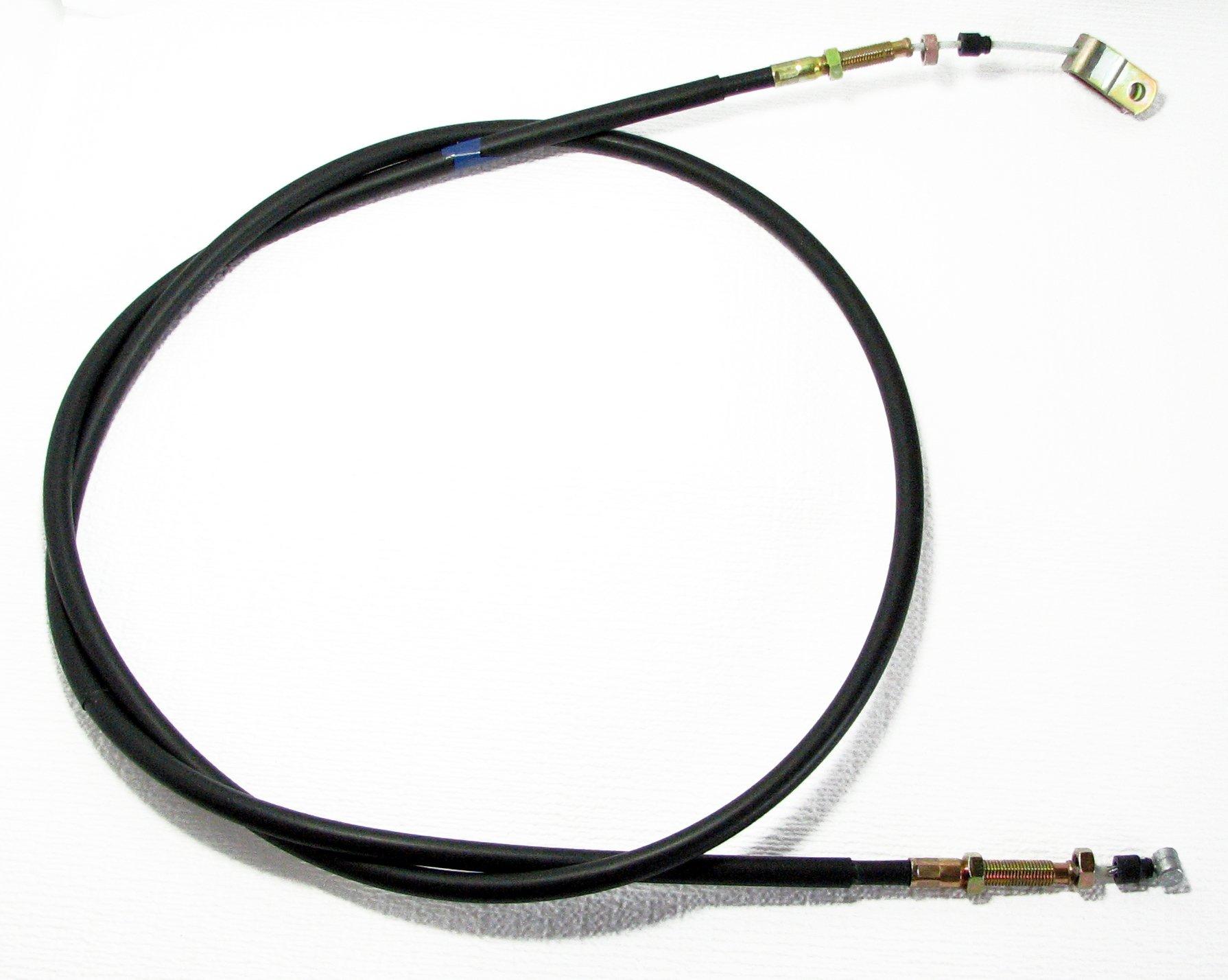 KAWASAKI MULE 3010 / 4010 Trans 4x4 Diesel / Gas - Right Parking Brake Cable - Replaces OEM # 54005-7504 & 54005-7502