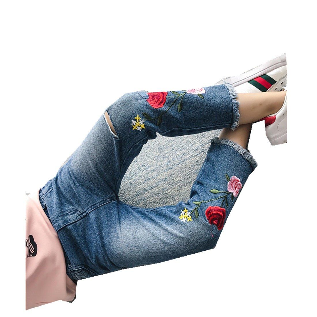 MV Children's Wear Pants Summer Spring Autumn Girls Jeans Baby Kids Trousers