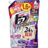 【大容量】トップ クリアリキッド抗菌 洗濯洗剤 詰め替え 1160g