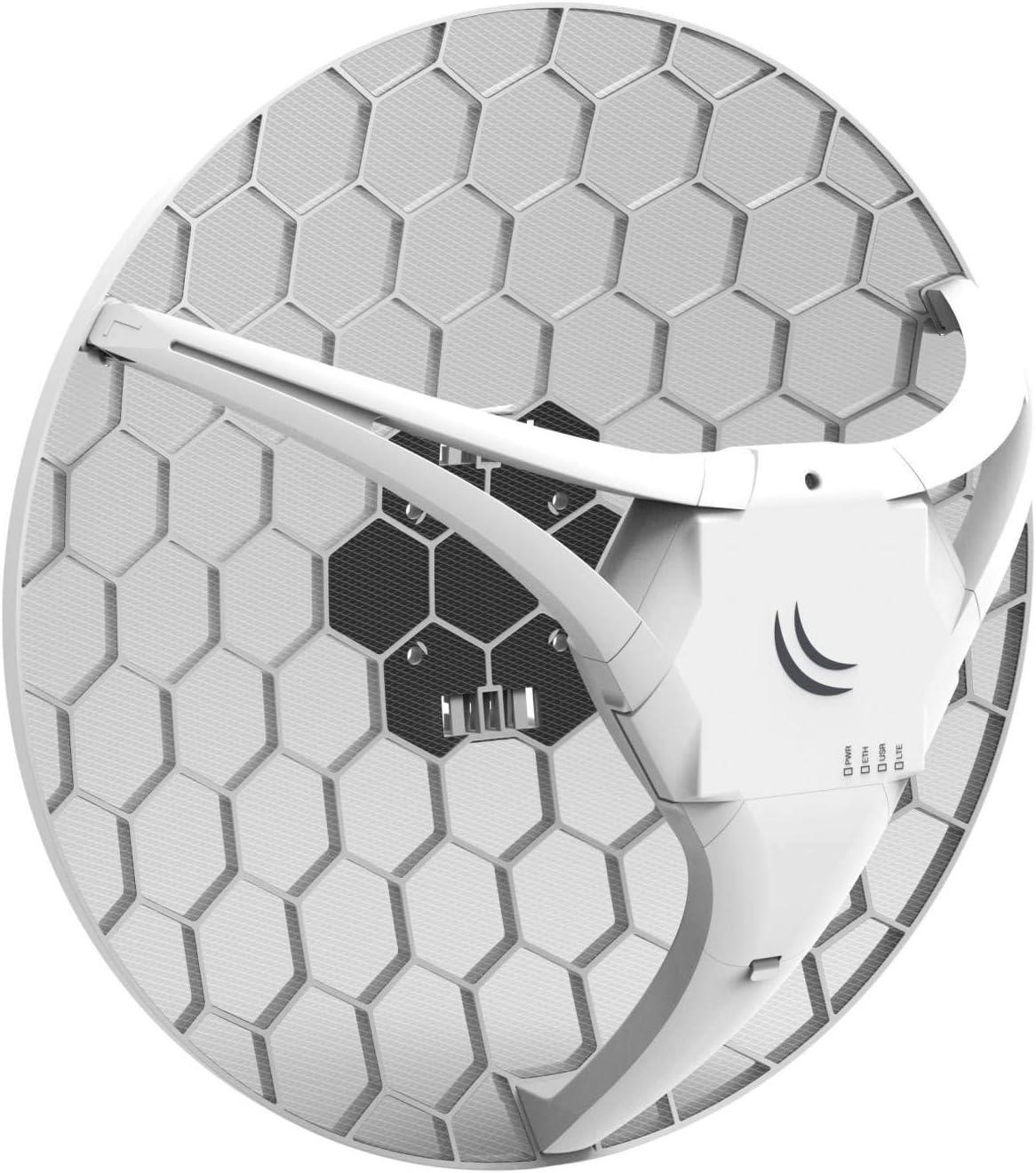 MikroTik LHG LTE kit LHG 2G/3G/4G/LTE CPE, RBLHGR&R11e-LTE ...