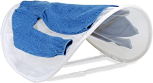Smart Design Pop Up Adjustable Sweater Dryer with Adjustable Straps - VentilAir Breathable Mesh - for Drying Sweaters, Shirts, Clothing Garments - Home - (27 x 33 Inch) [White]