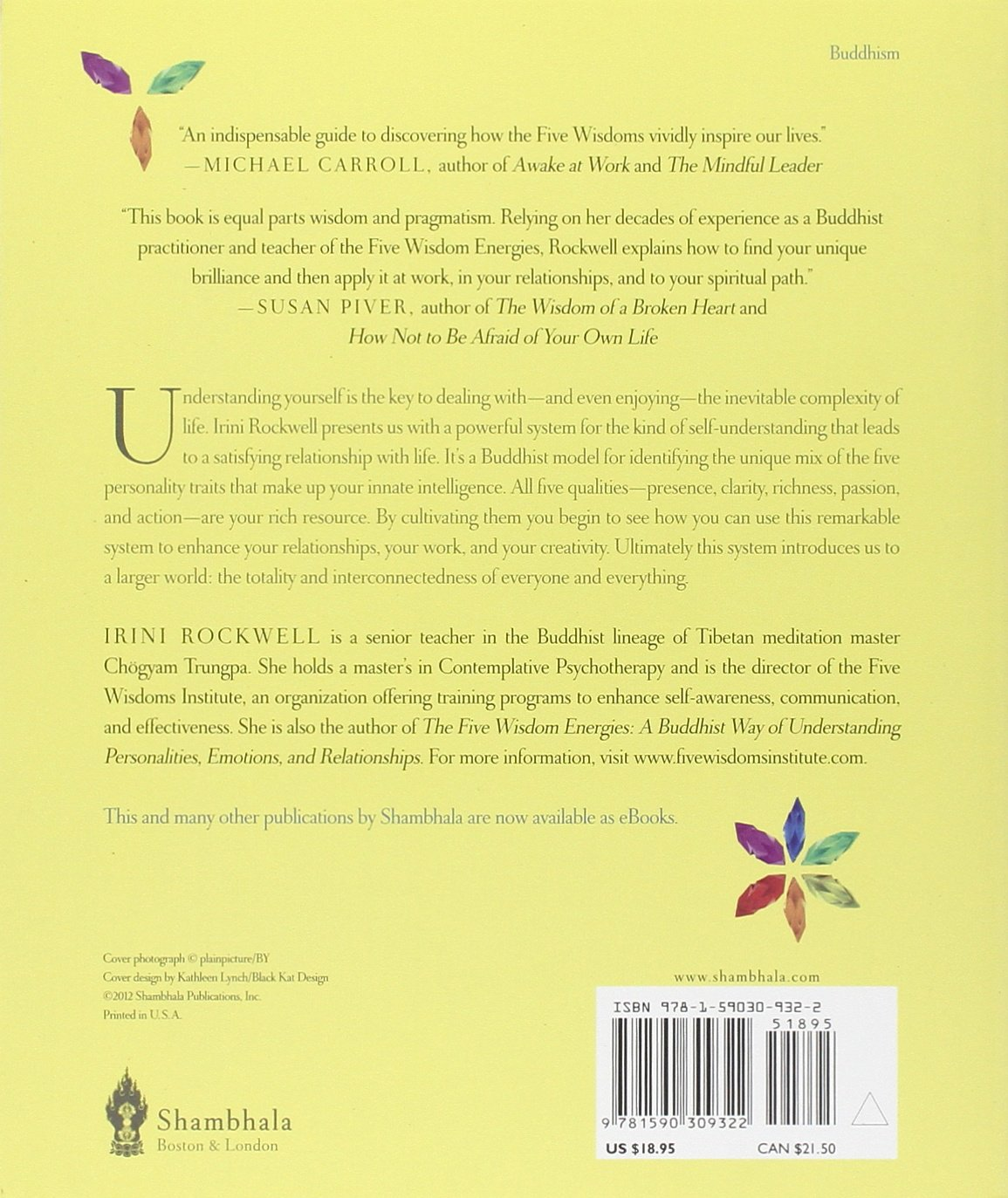 Amazon: Natural Brilliance: A Buddhist System For Uncovering Your  Strengths And Letting Them Shine (9781590309322): Irini Rockwell: Books