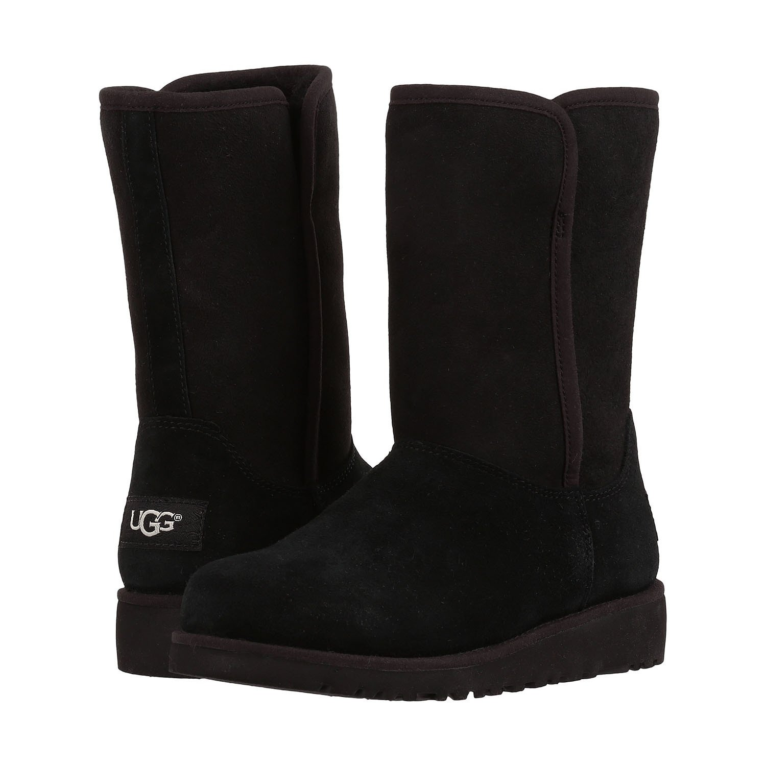 UGG Girls' Alexey (Little Big Kid), Black, 2 M