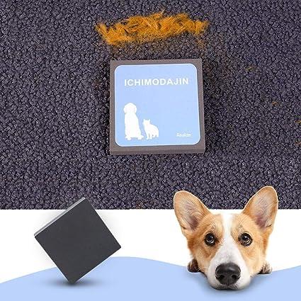Globalqi Cepillo de limpieza para mascotas reutilizable y eficaz para la pérdida de pelo de mascotas