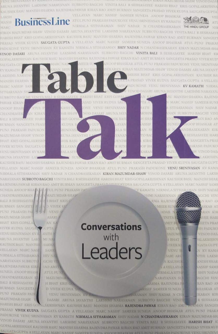 520914f0e16 Table Talk - Conversations with Leaders - The Hindu BusinessLine Paperback  Bunko – 2018