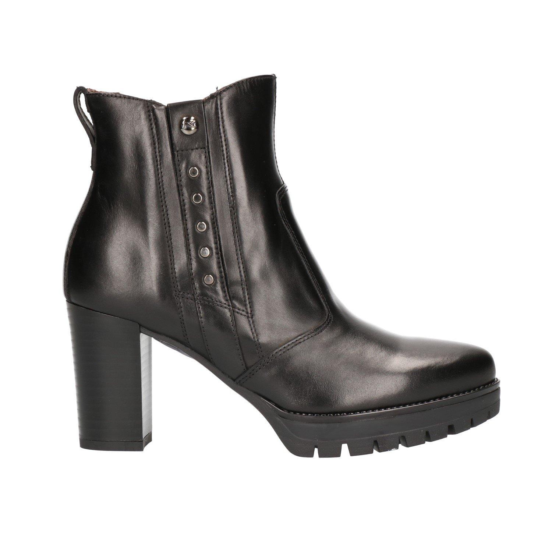 Schwarz Giardini A807075D, Damen Stiefel & Stiefeletten Schwarz Schwarz