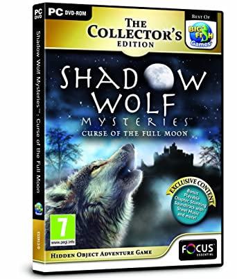 Shadow Wolf Mysteries Curse of the Full Moon Collectors Edition (PC DVD)