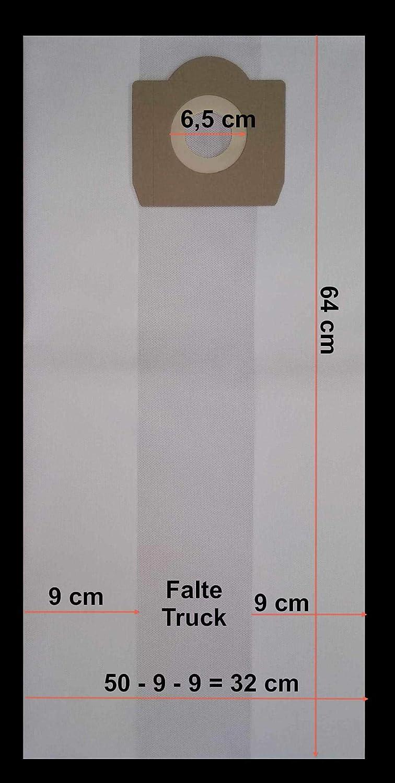 r/éutilisable pour aspirateur Stanley SXVC30 XTDE 1x Sac-filtre tissus /à fermeture /éclair