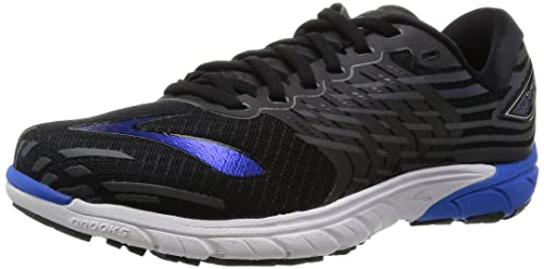 Brooks PureCadence 5, Men's Running Shoes, Black (Black/Electric Blue /Anthracite