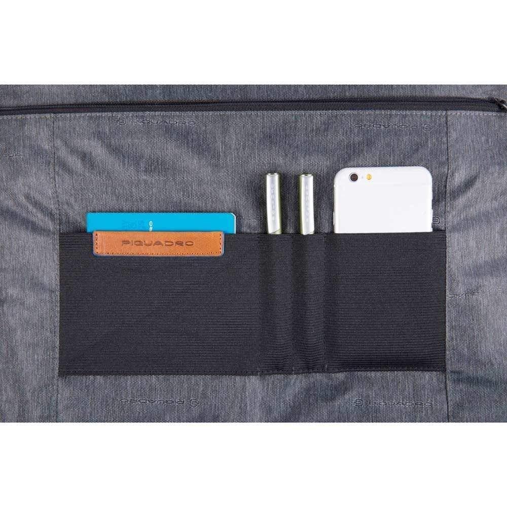 Piquadro Blue Square Aktentasche Leder 40 cm Laptopfach