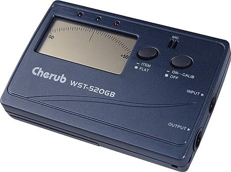 Cherub WST-520GB afinador de guitarra y bajo: Amazon.es ...