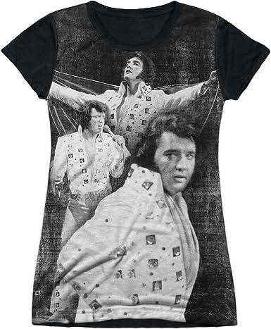 Elvis Presley LEGENDARY PERFORMANCE 1-Sided Sublimated Big Print Poly T-Shirt