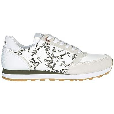 50d3c315812de Emporio Armani EA7 Basket Femme Bianco 40 EU  Amazon.fr  Chaussures ...