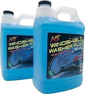 HS 29.606 Bug Wash Windshield Washer Fluid, 1 Gal (3.78 L) Pack 2