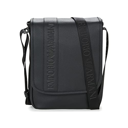0751be2699 Borsa uomo a tracolla con logo - nero: Amazon.co.uk: Clothing