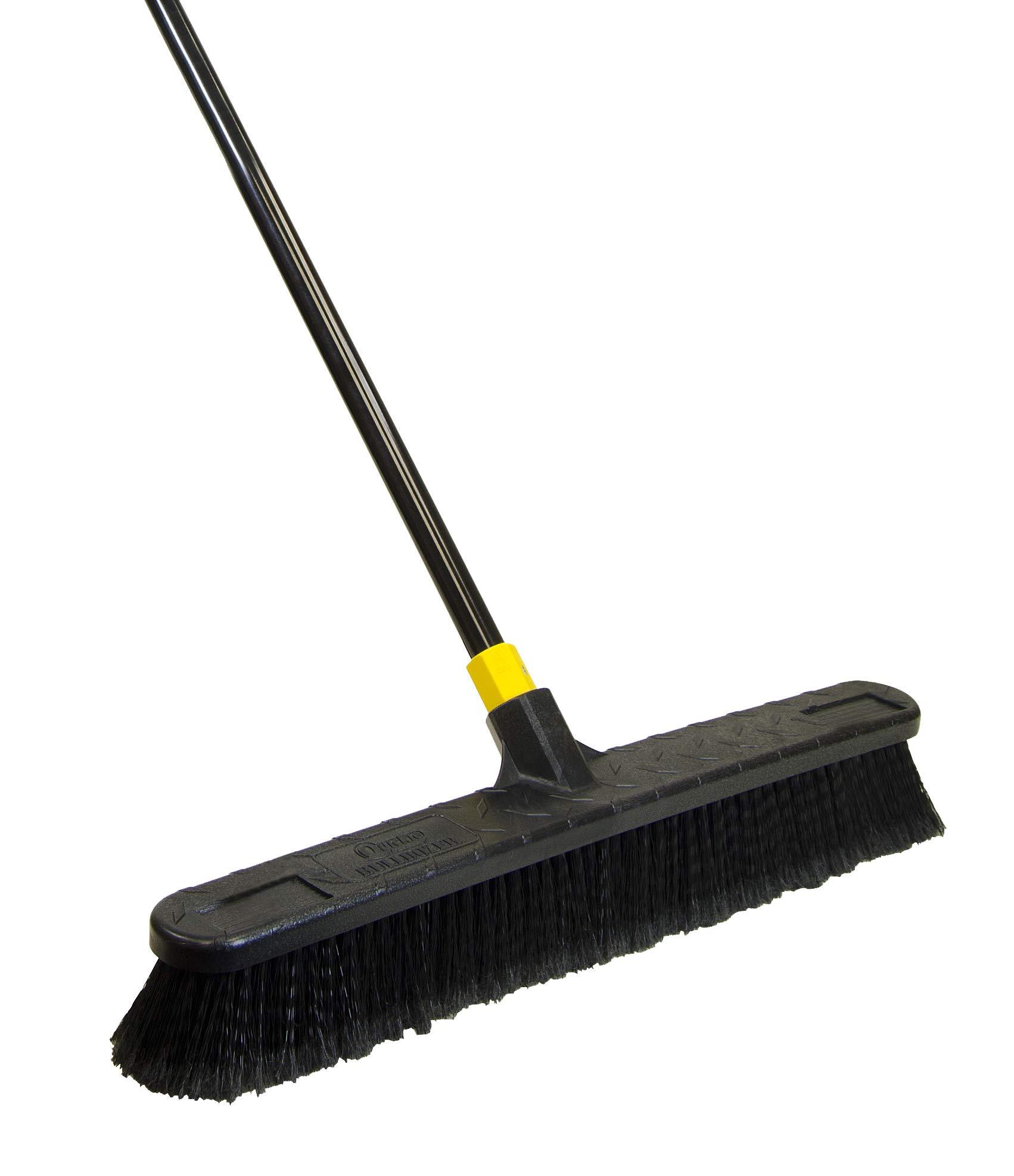 Quickie Quckie Push Broom, 1 Pack, Black - 594 by Quickie