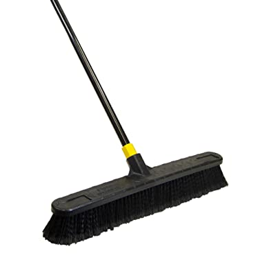 Quickie Quckie Push Broom, 1 Pack, Black - 594
