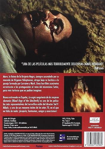 La orgía sangrienta de las mujeres demonio [DVD]: Amazon.es: Lila Zaborin, Victor Izay, Tom Pace, Leslie McRay, Ted V. Mikels: Cine y Series TV