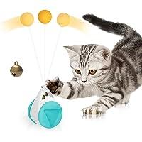 ABClife Juguetes para Gatos,Juguetes interactivos para Gatos, Juguetes para Gatos con balanceo con Hierba gatera, Vaso…