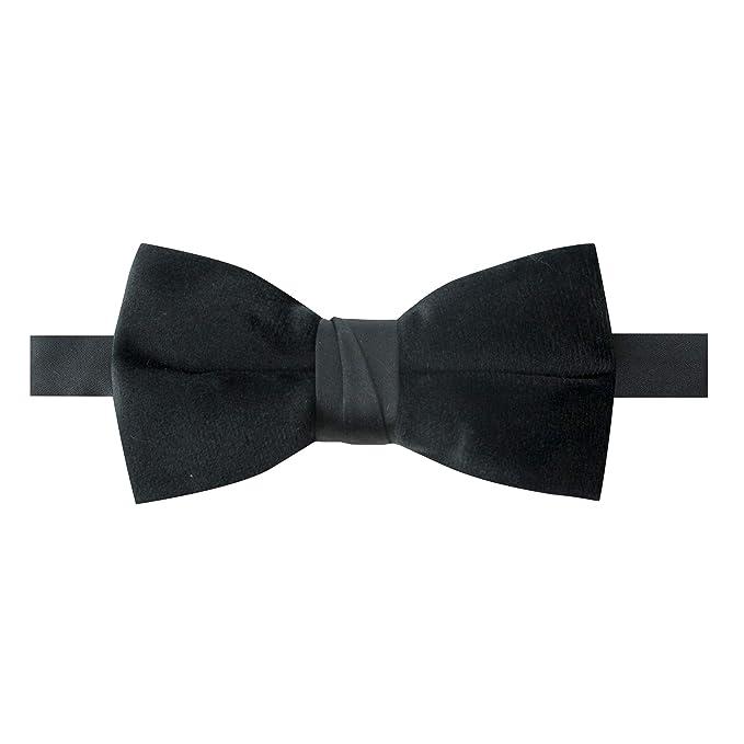 20b213bb0a33 Spring Notion Men's Pretied Velvet Bow Tie Black at Amazon Men's ...