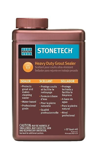 StoneTech Heavy Duty Grout Sealer, 1 Quart (.946L)