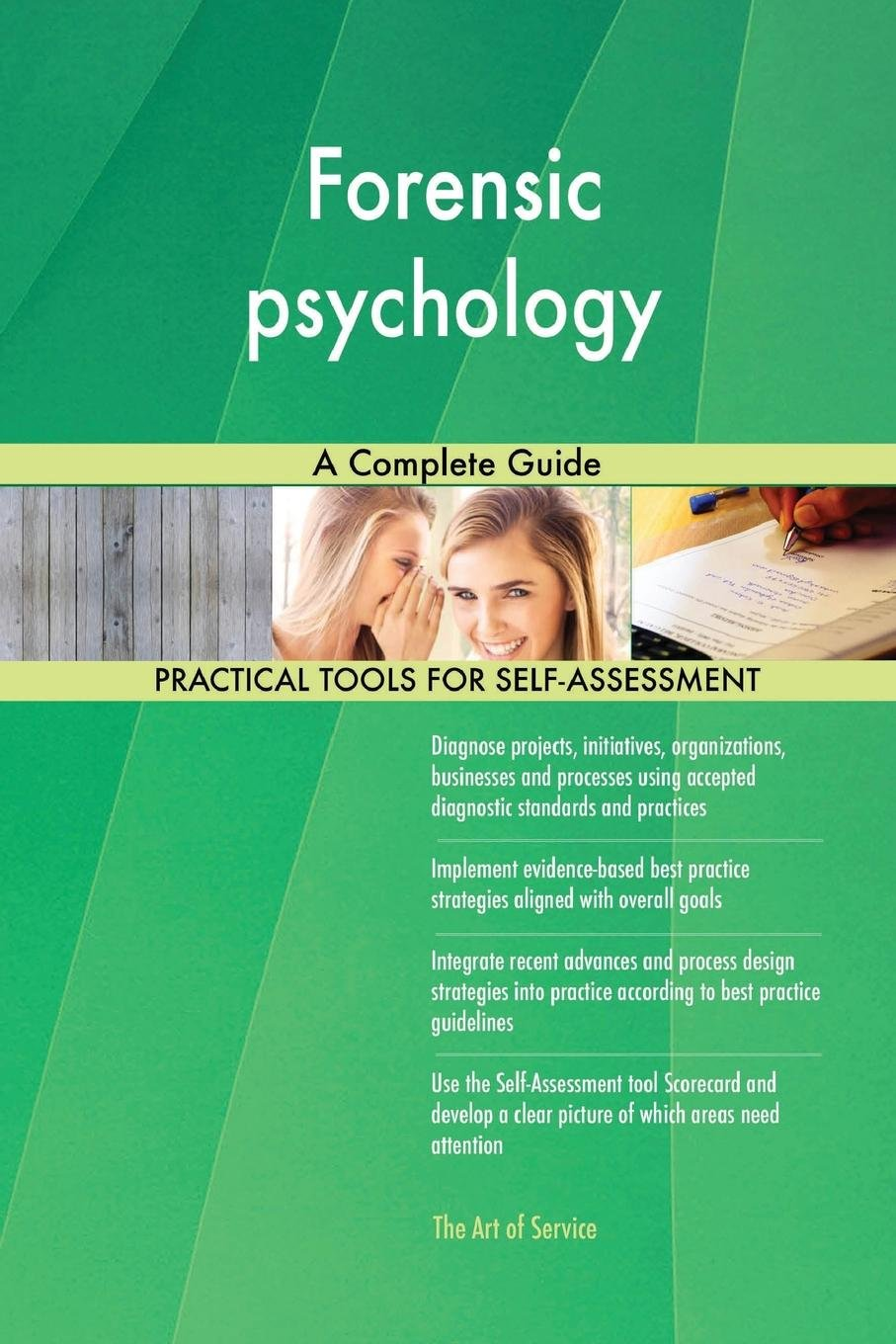 Forensic Psychology A Complete Guide Blokdyk Gerardus 9780655310174 Amazon Com Books