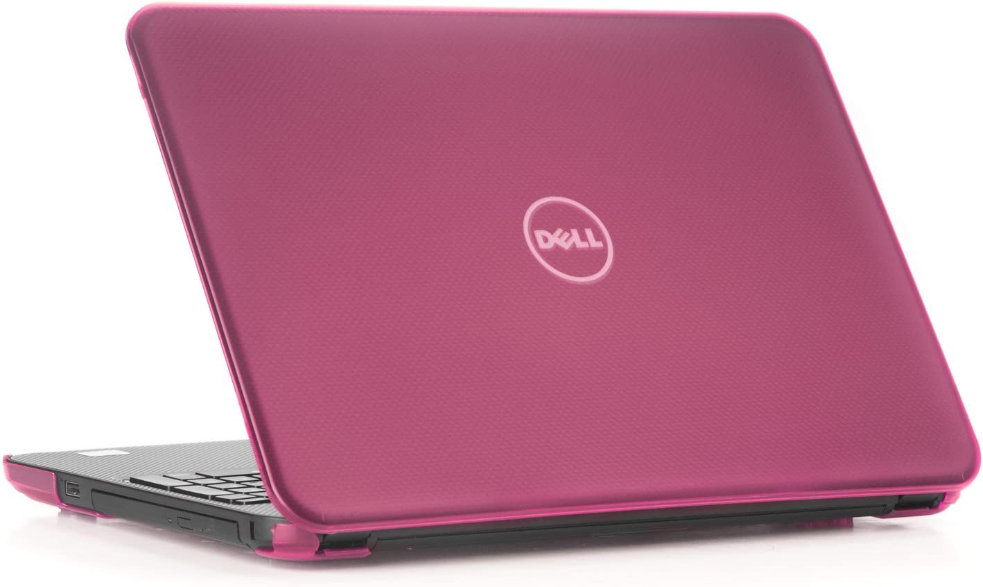 "mCover Hard Shell Case for 15.6"" Dell Inspiron 15 5565/5567 Laptop (NOT Compatible with Other Dell Inspiron 5000 Series Models) (Pink)"