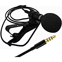 Sami Mini Lavalier Lapel Mic Microphone for PC Computer, Laptop, Gaming,Sound Recording Compatible with All Smartphones and Tablets (3 Months Warranty)