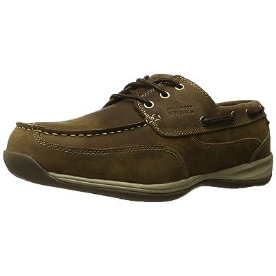 Rockport Work Men's Sailing Club RK6736 Work Shoe, Brown, 11.5 M US: Industrial & Scientific