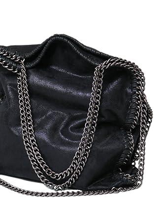 fa79b544f5339 Designer Handtasche mit Kettenelementen by Sassyclassy