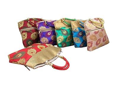 Amazon.com: GoldGiftIdeas - Bolso de seda para mujer, para ...