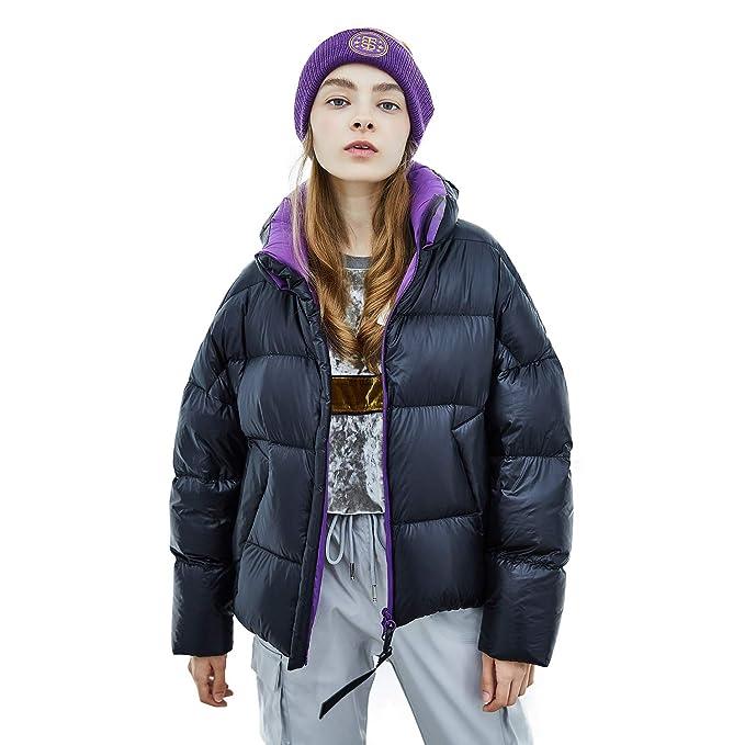 Amazon.com: BOSIDNEG Puff Collection - Chaqueta de invierno ...