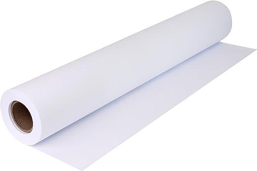 Your Design rollo de papel para plóter 80 g/m², 620 mm x 50 m, A1 A2 para CAD, blanco, sin recubrimiento, en blanco: Amazon.es: Oficina y papelería