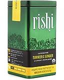 Rishi Tea Turmeric Ginger Loose Leaf Herbal Tea   Immune System Booster, Organic, Caffeine-Free, Ayurvedic, Energy…