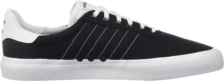 adidas Originals 3 MC Skate Shoe, Tennis Mixte Black White Black