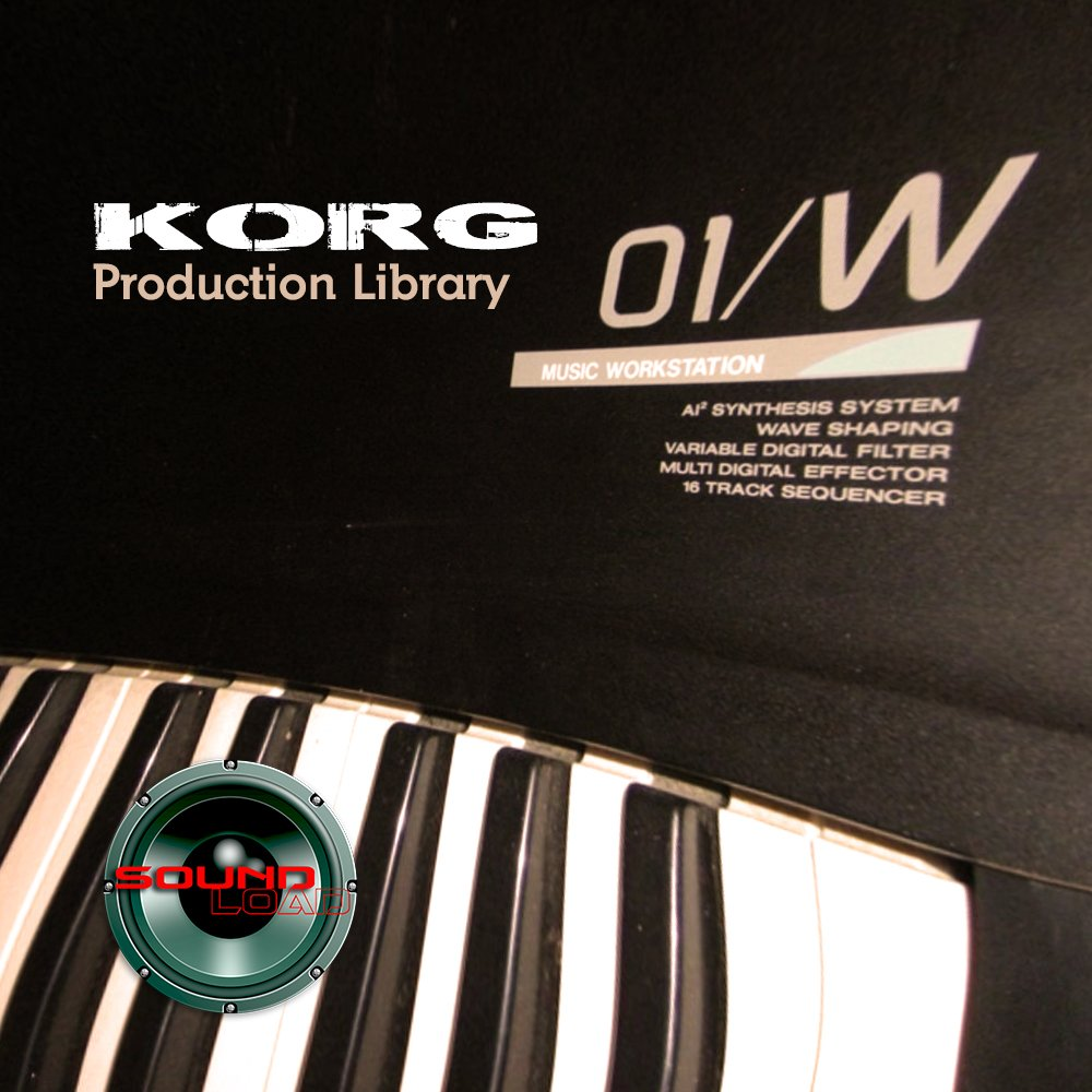 KORG 01/W THE very Best of - Large Original 24bit WAVE/KONTAKT Samples Library on DVD or download