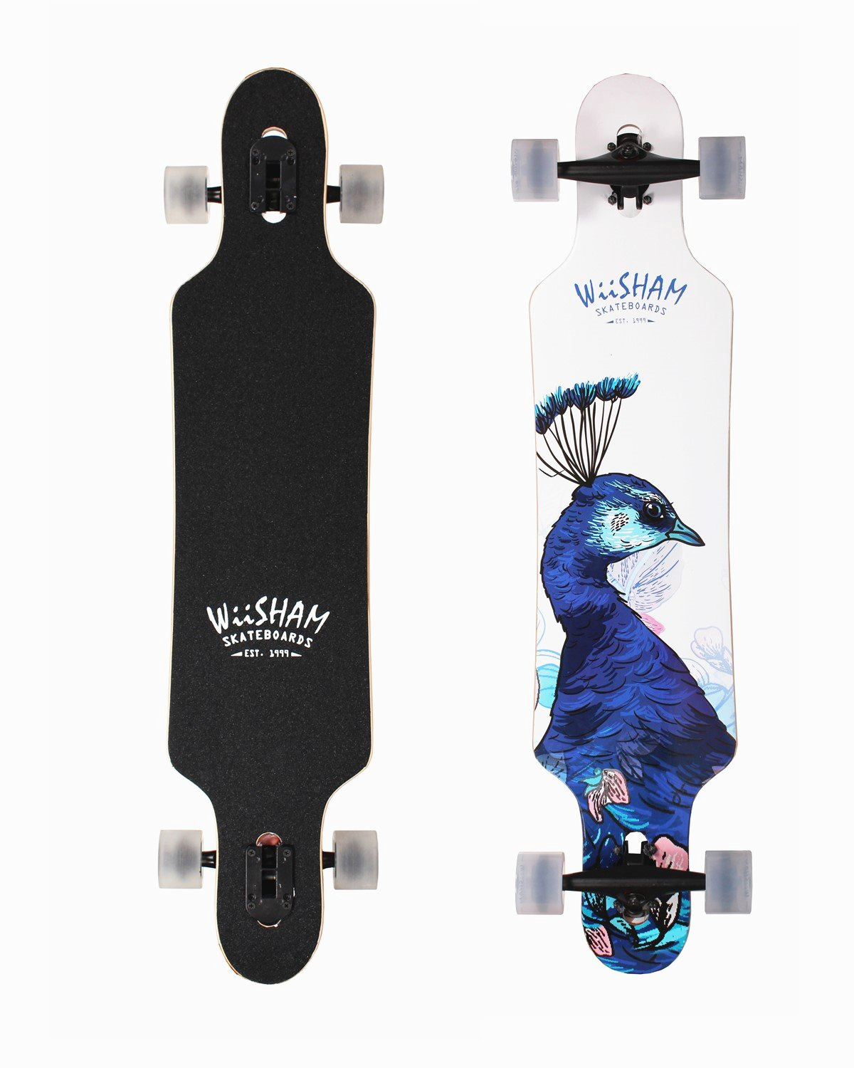 Xtreme Free Professional Speed Drop Down Complete Longboard Skateboard(42 Inches) (10)