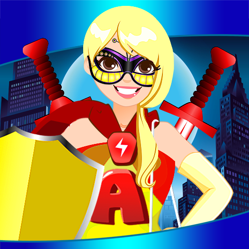Super Heroes Dress Up Games -