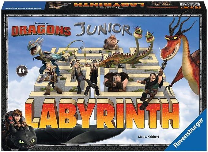 Ravensburger - Labyrinth Junior Dragons (21205): Amazon.es: Juguetes y juegos