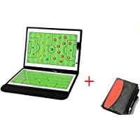 WENHAOYU Football Soccer Coach's Foldable Magnetic Tactics Strategy Board with an Erasable Write-Wipe 2 in 1 Pen