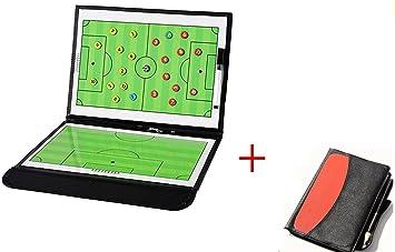 wenhaoyu plegable magnético de entrenador de fútbol de fútbol tácticas estrategia Junta con un write-wipe borrable bolígrafo 2 en 1