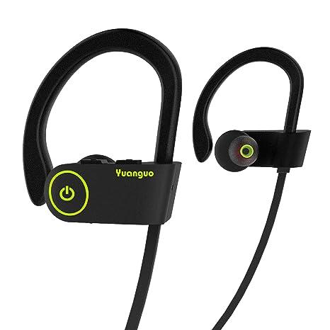 Auricolari Bluetooth HolyHigh cuffie sportive resistenti all acqua  Waterproof standard senza fili con Microfono a 5f7726f2c95d