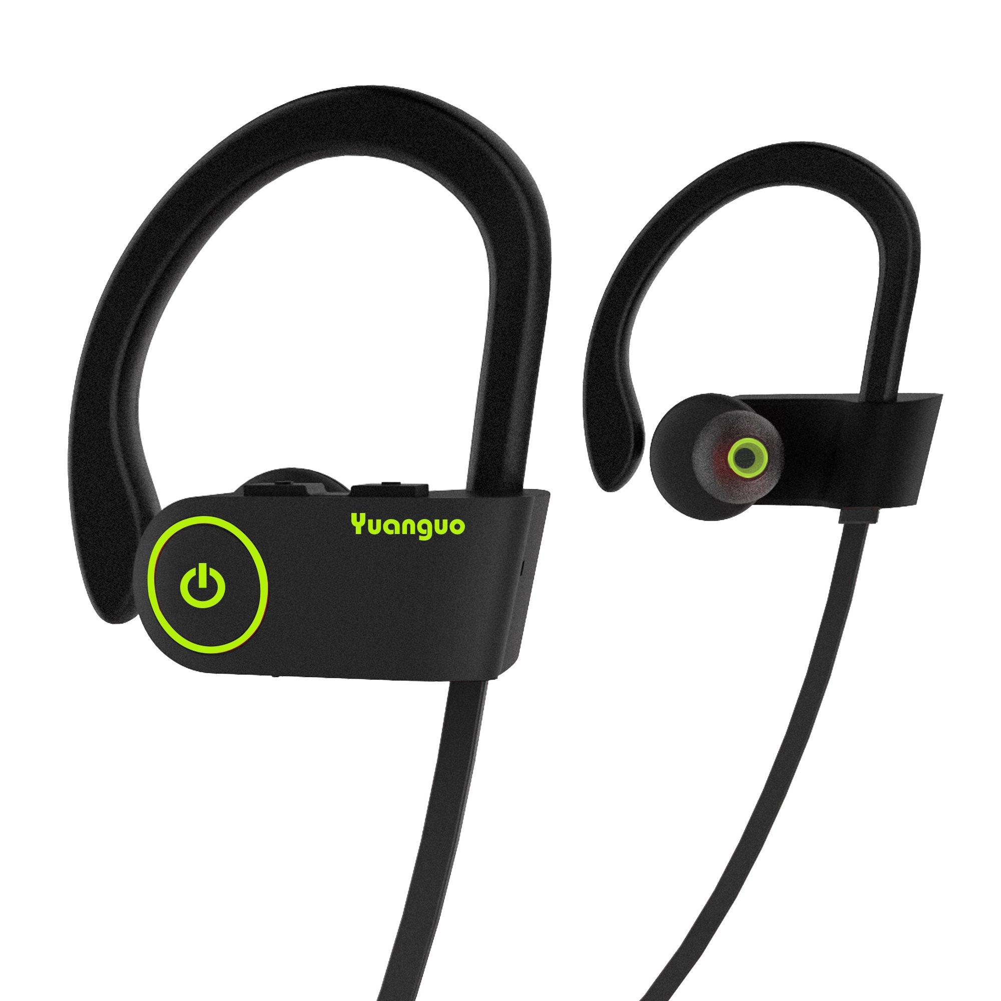 Auricolari Bluetooth HolyHigh cuffie sportive resistenti all acqua  Waterproof standard senza fili con Microfono a 18c303888a0e